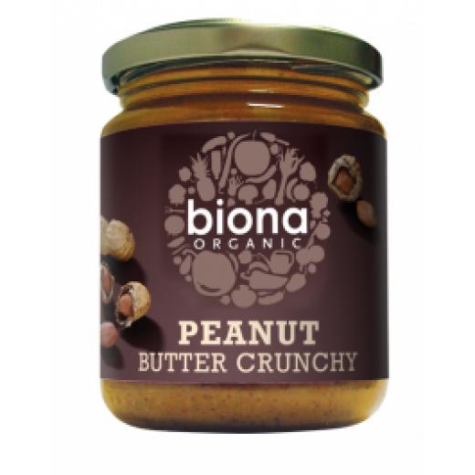 Bio arašidno maslo Biona, 250 g
