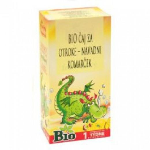 Bio čaj za otroke - navadni komarček F20, 30 g