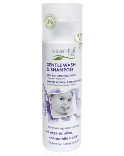 Blago tekoče milo in šampon za dojenčke Essential Care, 200 ml