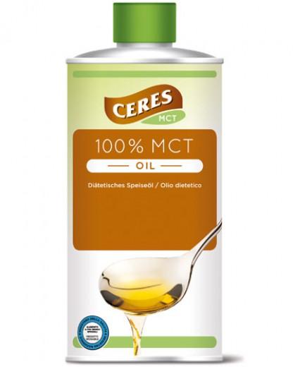 100-odstotno dietetično olje CERES MCT, 500 ml