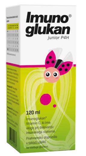 Medis, Imunoglukan P4H junior, 120 ml