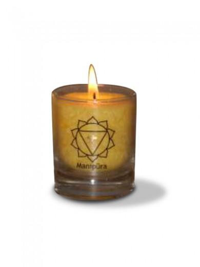 Čakra manipura ali popkovna čakra sveča - manjša