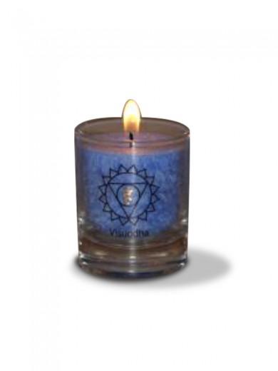 Čakra visuddah ali grlna čakra sveča - manjša