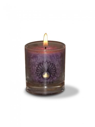 Čakra sahasrara ali kronska čakra sveča - manjša