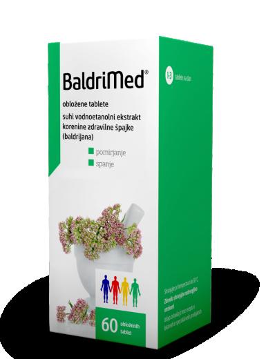 BaldriMed 450 mg obložene tablete, 60 tablet