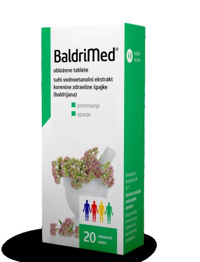 BaldriMed 450 mg obložene tablete, 20 tablet