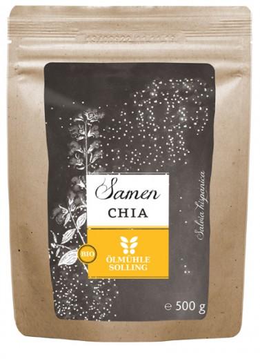 Bio Chia semena Olmuhle Solling, 500 g