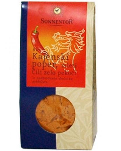 Bio začimba Kajenski poper Sonnentor, 40 g