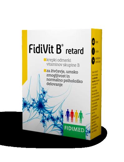 Fidimed, FidiVit B retard, 40 kapsul