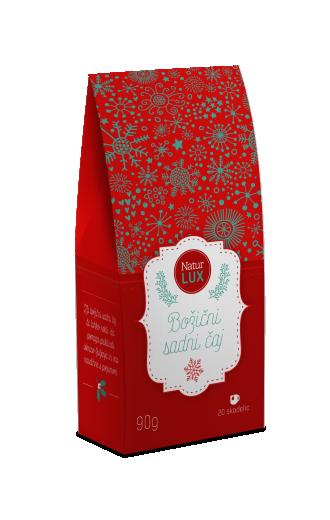 Božični sadni čaj, praznično pakiranje - NaturLUX, 90 g