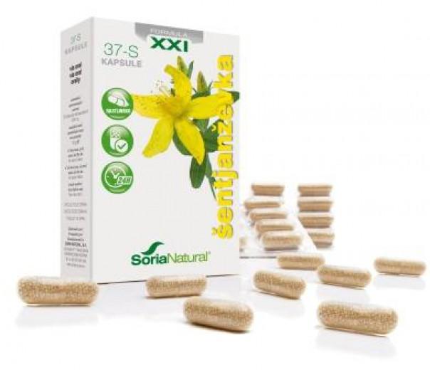 Soria Natural, šentjanževka XXI kapsule, 30 kapsul