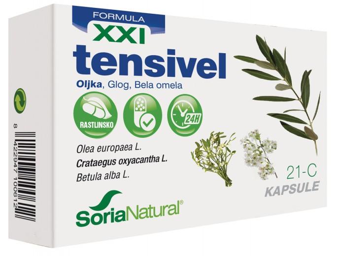 Soria Natural, tensivel XXI kapsule, 30 kapsul