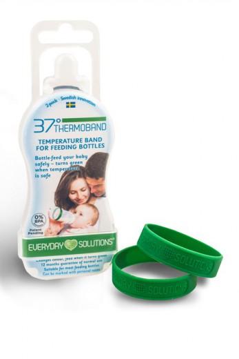 37°thermoband trak za merjenje temperature mleka/hrane v steklenički