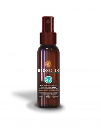 Biosolis oljni sprej za zaščito pred soncem z ZF 20, 100 ml