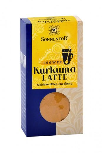 Bio mešanica začimb kurkuma latte z ingverjem Sonnentor, 60 g