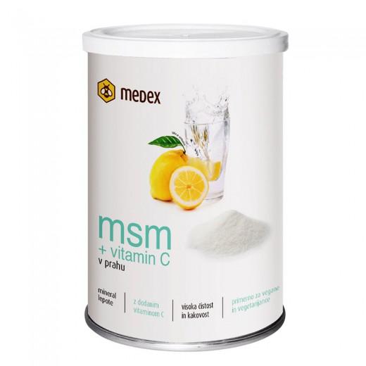 Medex, MSM + vitamin C, 200 g