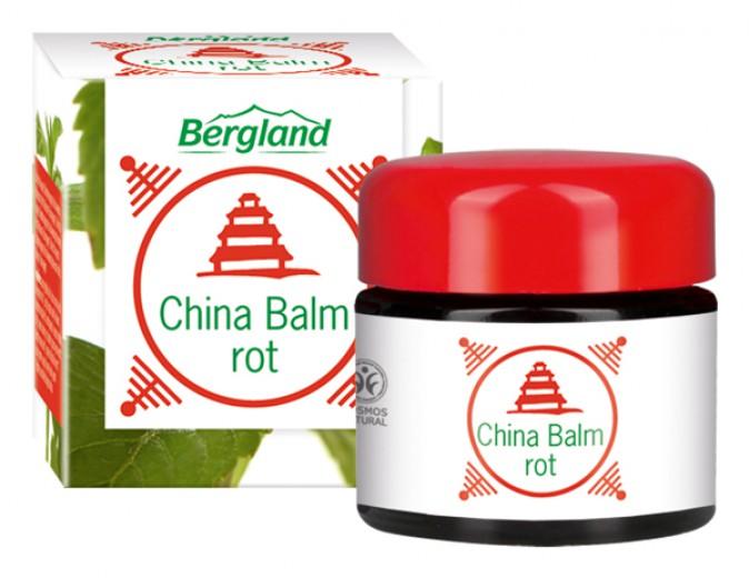 Kitajsko mazilo CHINA BALZAM rdeč Bergland, 20 ml