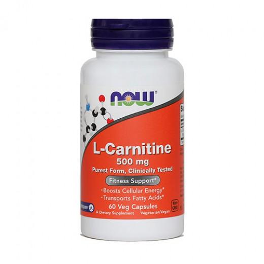 Now, L - Karnitin, 500 mg, 60 kapsul