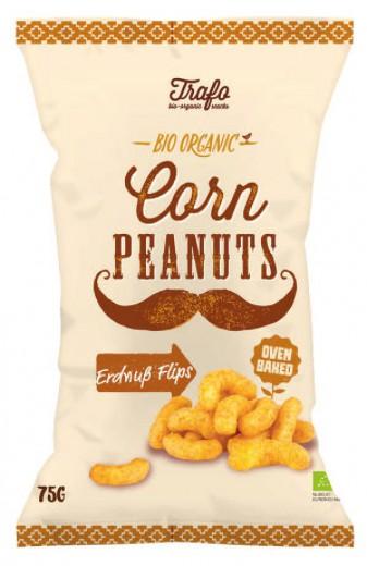 Bio arašidni flips Trafo, 75 g