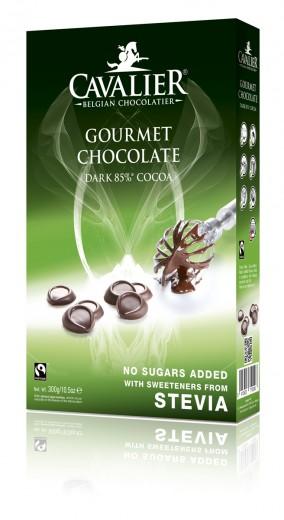 Cavalier gourmet čokoladne kapljice, 300 g