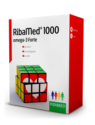 Fidimed, RibaMed 1000, 100 kapsul