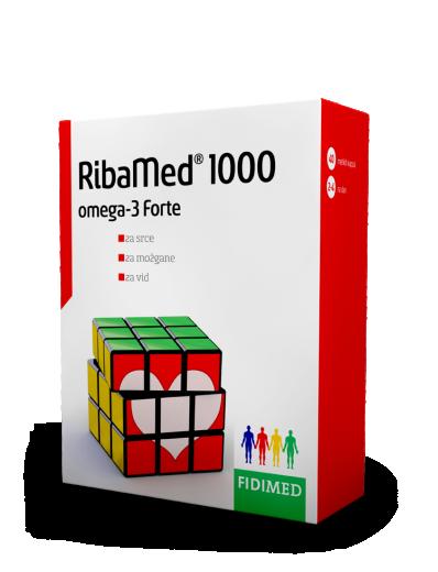 Fidimed, RibaMed 1000, 40 kapsul