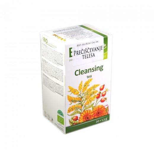 Bio zeliščni čaj za prečiščevanje telesa F20, 30 g