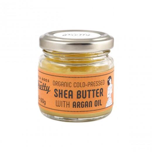 Karitejevo in arganovo maslo ekološko Zoya Goes Pretty, 60 g
