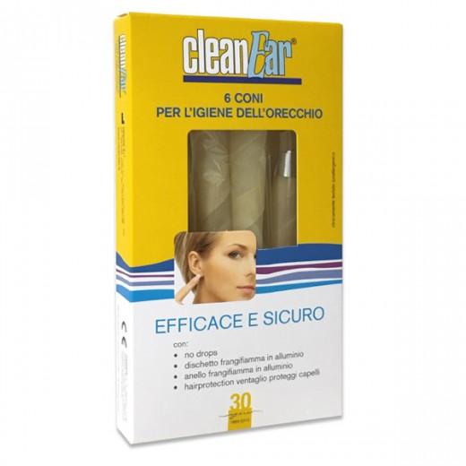 CleanEar svečke za ušesno higieno, 6 kos