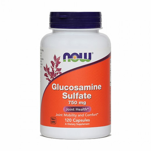Now, glukozaminijev sulfat, 750 mg, 120 kapsul