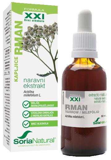 Soria Natural, Rman XXI kapljice brez alkohola, 50 ml