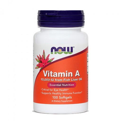 Now, vitamin A - 10.000 IE, 100 kapsul