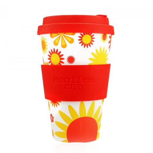 Ecoffee lonček za večkratno uporabo Happy, 400 ml