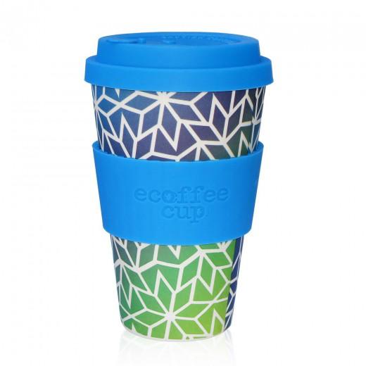 Ecoffee lonček za večkratno uporabo - Stargate, 400 ml