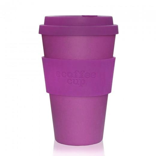 Ecoffee lonček za večkratno uporabo - Vijolična, 400 ml