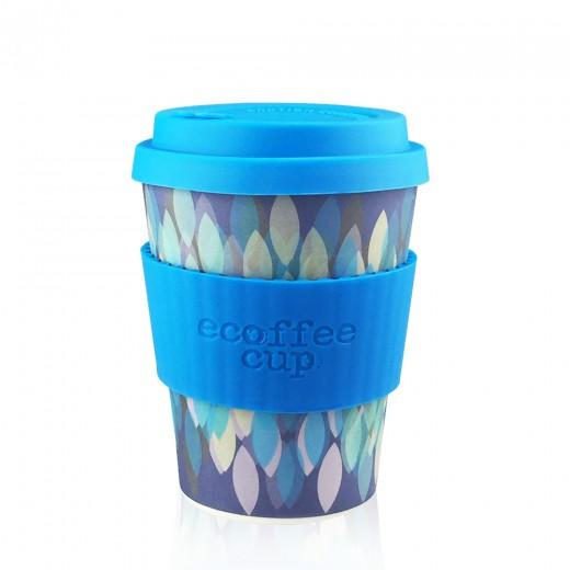 Ecoffee lonček za večkratno uporabo – Sakura Blue, 355 ml