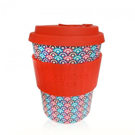Ecoffee lonček za večkratno uporabo – Diggi Palace, 355 ml