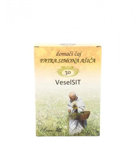 Čajna mešanica VeselSIT patra Simona Ašiča, 50 g