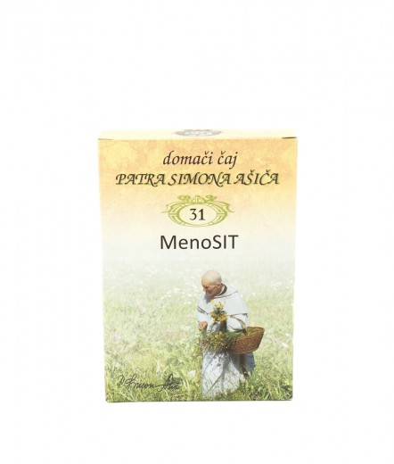 Čajna mešanica MenoSIT patra Simona Ašiča, 50 g