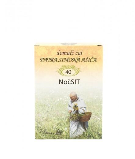 Čajna mešanica NočSIT patra Simona Ašiča, 50 g