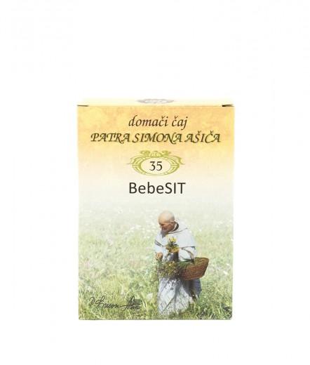 Čajna mešanica BebeSIT patra Simona Ašiča, 50 g