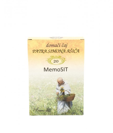 Čajna mešanica MemoSIT patra Simona Ašiča, 50 g