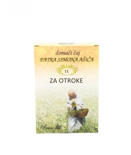 Čajna mešanica ZA OTROKE patra Simona Ašiča (11), 50 g