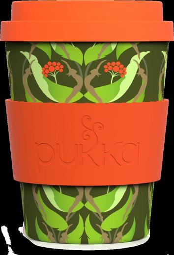 Bamboo melamin skodelica, motiv Ginseng Pukka, 340 ml