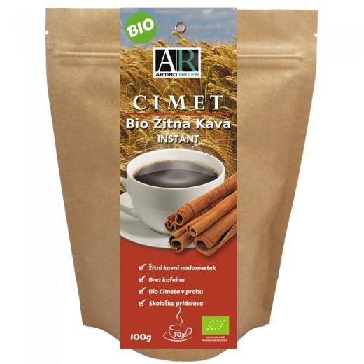 Bio žitna kava s cimetom, 150 g