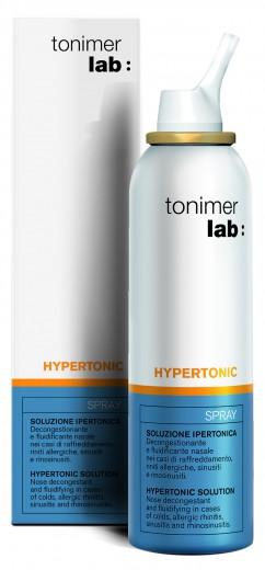 Tonimer Lab Hypertonic pršilo za nos, 125 ml
