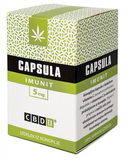 CBDex, capsula IMUNIT, 30 kapsul