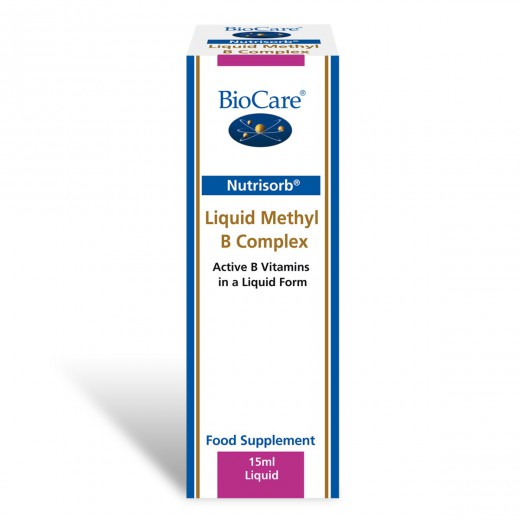 BioCare, nutrisorb tekoči metil B kompleks, 15 ml