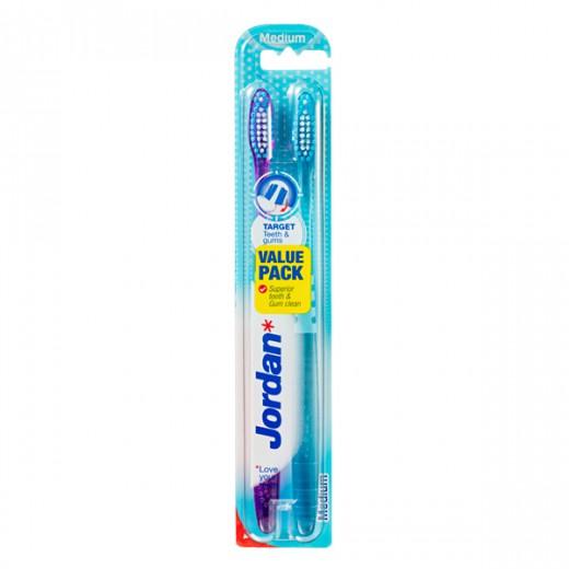 Jordan zobna ščetka Target Teeth&Gums 2/1, medium