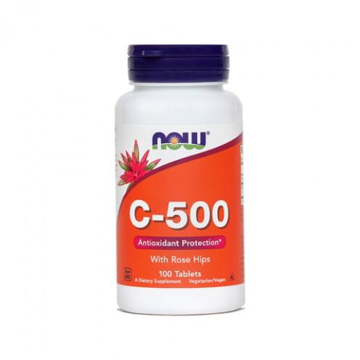 Now, vitamin C - 500, 100 tablet